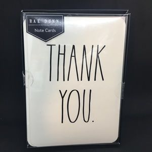 Rae Dunn Box Of Thank You Note Cards